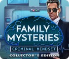 Igra Family Mysteries: Criminal Mindset Collector's Edition