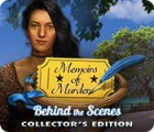 Igra Memoirs of Murder: Behind the Scenes Collector's Edition