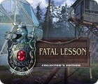 Igra Mystery Trackers: Fatal Lesson Collector's Edition