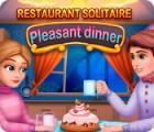Igra Restaurant Solitaire: Pleasant Dinner