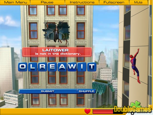 Free Download Spiderman 2 Web Of Words Screenshot 3